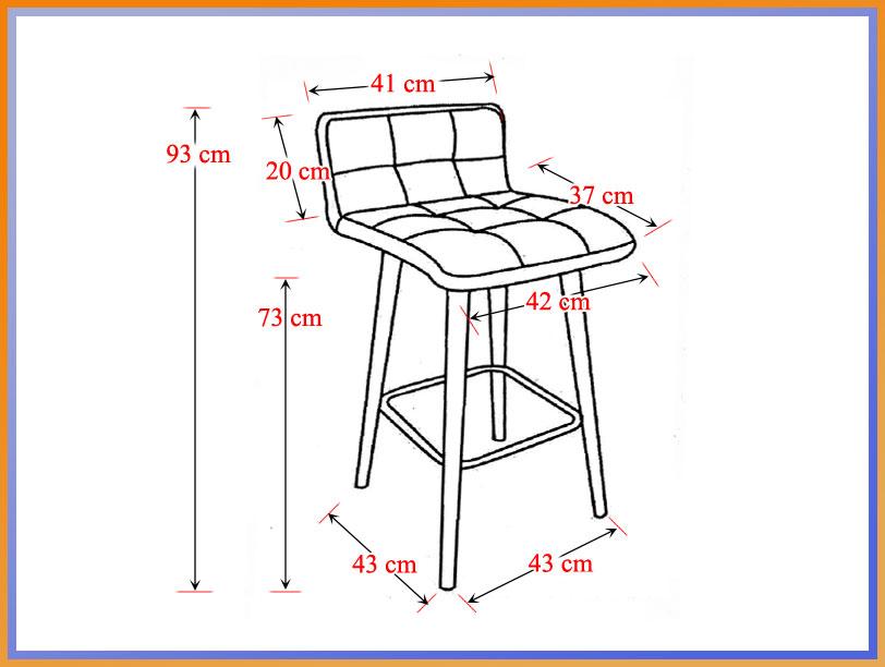 scaune bar ABS 127